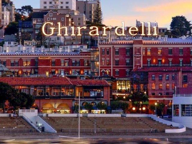 Ghirardelli Square em San Francisco na Califórnia