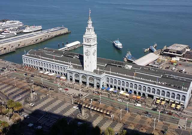 San Francisco Ferry Building na Califórnia