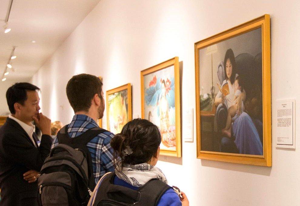 Galeria de arte City Art em San Francisco na Califórnia