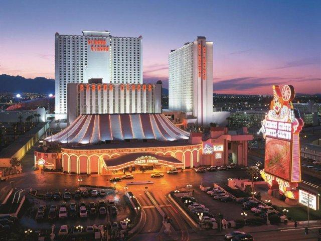 Show de Circo no Circus Circus em Las Vegas