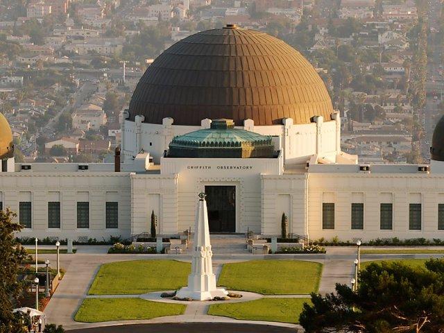Observatório Griffith Park em Los Angeles