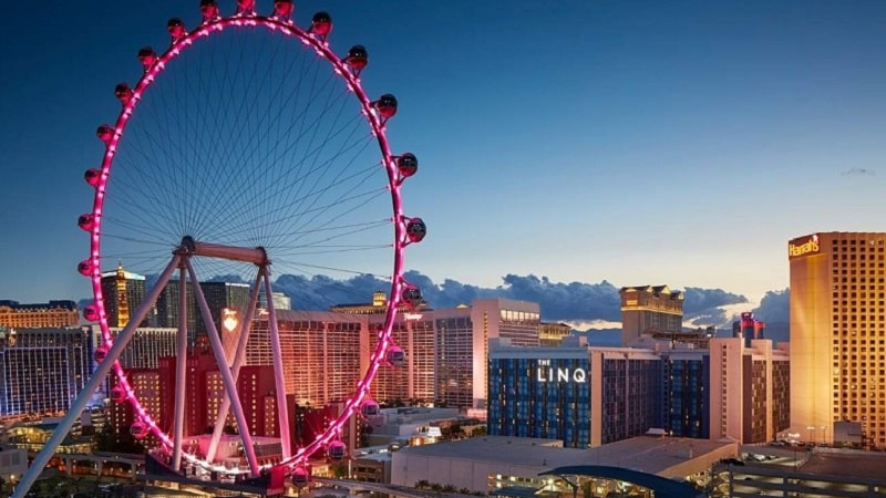 Roda-gigante High Roller em Las Vegas