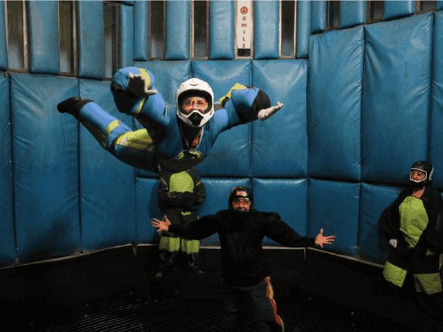 Simulador de paraquedismo em Las Vegas