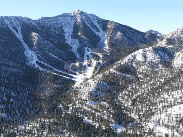 Onde esquiar em Las Vegas