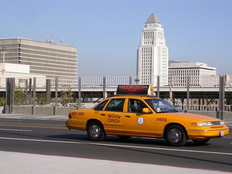Táxi em Los Angeles