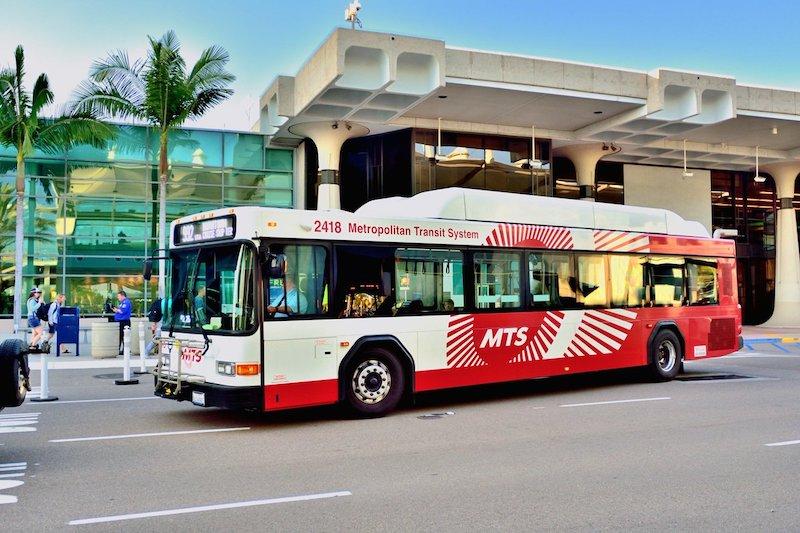 Ônibus em San Diego