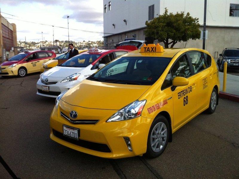Táxi em San Diego