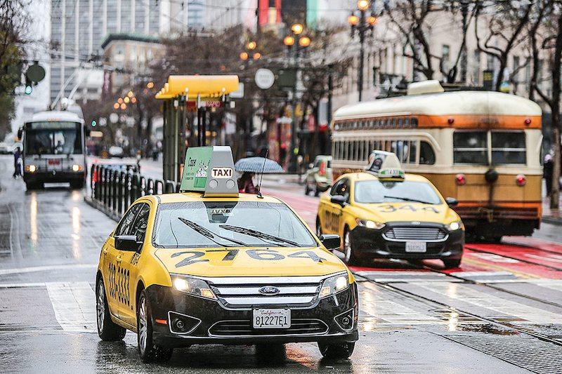 Táxi em San Francisco